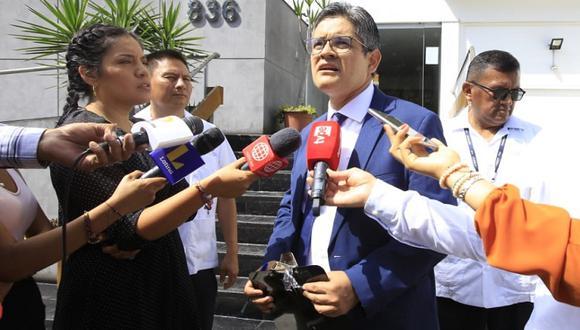 El fiscal José Domingo Pérez se mostró a favor de la decisión de la JNJ de suspender de sus funciones a Pedro Chávarry. (Foto: Jessica Vicente / GEC)