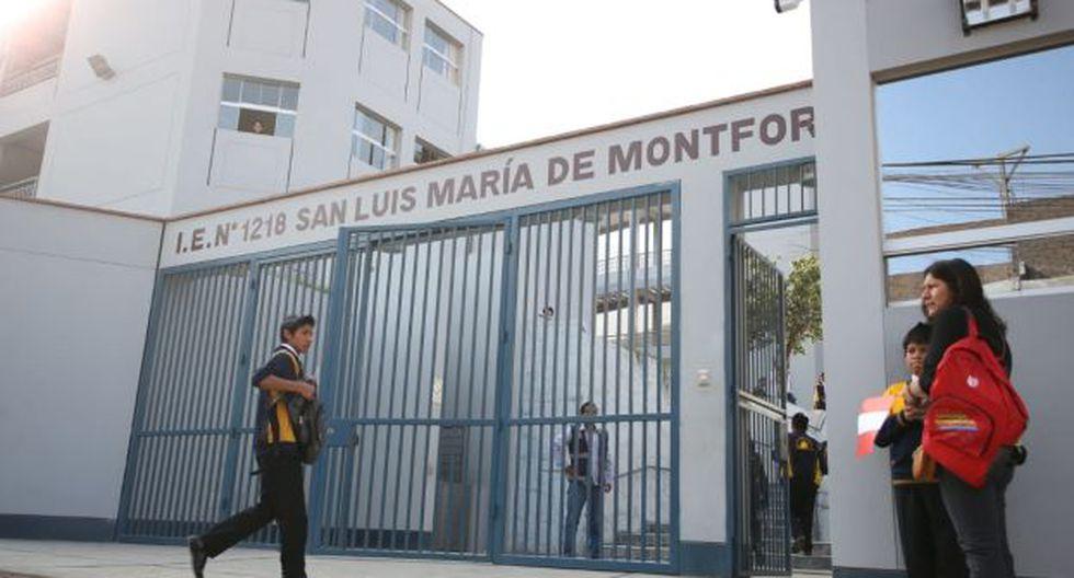 El Minedu inauguró esta mañana las nuevas y modernas instalaciones del colegio San Luis María de Montfort, ubicado en el distrito de Chaclacayo. (Foto: Minedu)