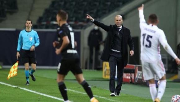 Zinedine Zidane positivo tras empate de Real Madrid en Champions League.