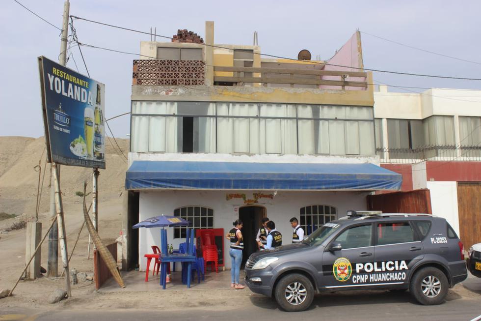 Sicarios atacaron a plena luz del día en Huanchaco. (Seguridad Ciudadana de Huanchaco)