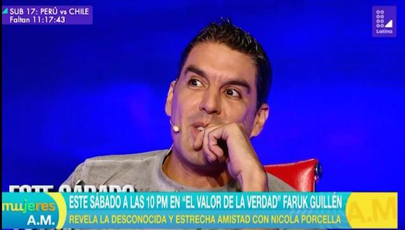 """""""El valor de la verdad"""": El nuevo adelanto de Faruk Guillén sorprende con esta revelación (Foto: Captura de pantalla)"""