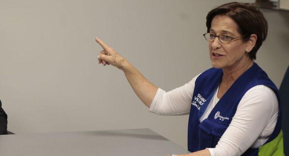 Susana Villarán aconseja a menores aprender karate para afrontar acoso sexual. (Perú21)
