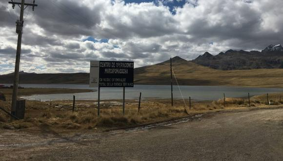 El proyecto inició su construcción en 2019 en el distrito de Marcapomacocha (Junín), sobre un ecosistema hídrico. (Foto: CooperAcción)