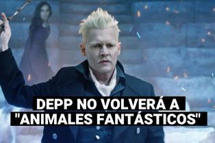 """Johnny Depp queda fuera del elenco de la saga de """"Animales Fantásticos"""""""