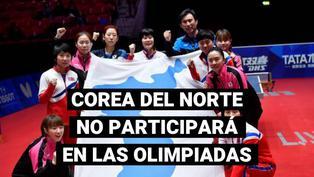 Corea del norte no acudirá a los Juegos Olímpicos de Tokio 2020