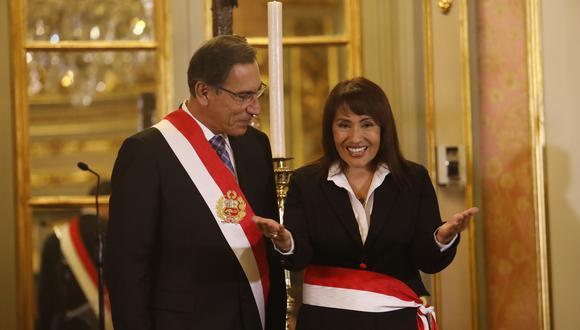 """""""Qué cosas concretas va a hacer el MTC, una de las primeras es que sus funcionarios van a pasar polígrafo"""", comenta María Jara. (Piko Tamashiro/ GEC)"""