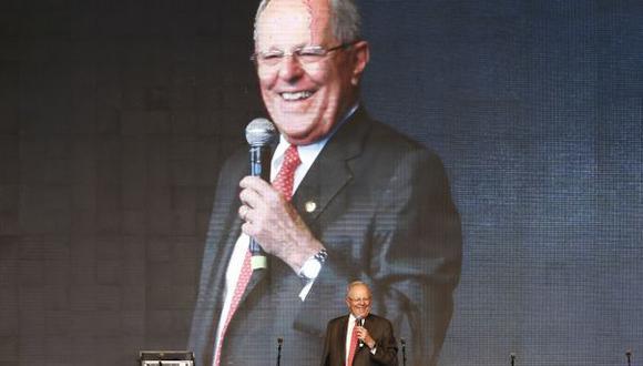 """Juan Pari sobre PPK y Odebrecht: """"Existió una relación antigua"""". (Rafael Cornejo/Perú21)"""