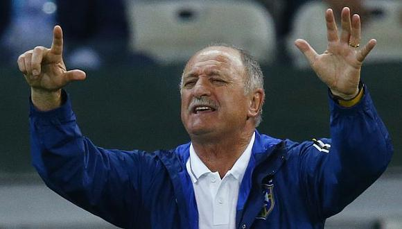 CBF confirma que Luiz Felipe Scolari ya no es más DT de Brasil. (Reuters)