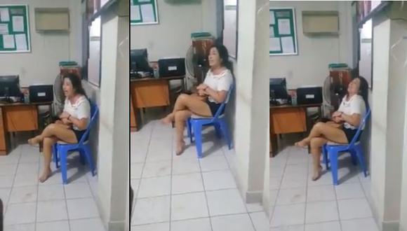 """Piura: Mujer llama """"indias"""" a las policías que la intervinieron por conducción imprudente. (Facebook/Tumbes Habla)"""