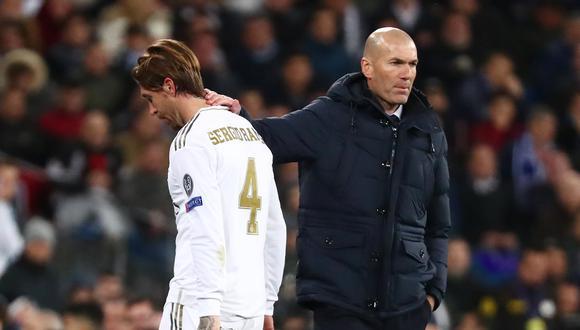 Serio Ramos puso el pecho en favor de su actual entrenador en Real Madrid