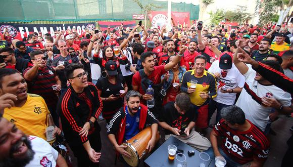 Conmebol envió lista al Perú de 1500 barra brava del Flamengo para que no ingresen al país. (Foto: Hugo Curotto / GEC)