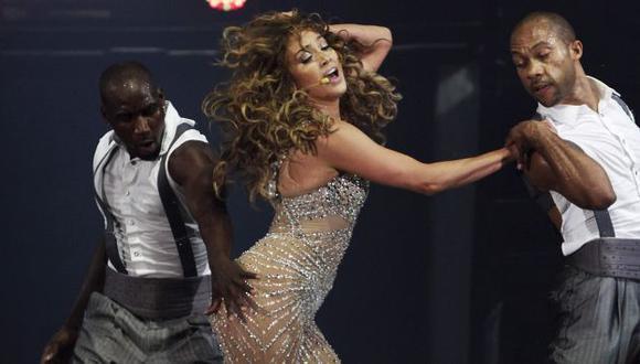 Realizó coreografías llenas de erotismo. (Reuters)