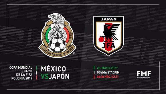 México y Japón se juegan sus chances de clasificación en el Mundial Sub 20. (Foto: Selección Nacional de México)