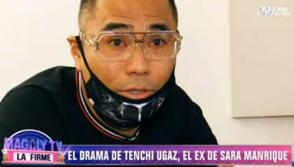 Manuel 'Tenchy' Ugaz reveló que Sara Manrique no lo deja ver a su hija. (Foto: Captura)