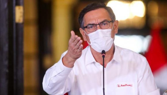 'Cuarto Poder' reveló nexos del cuñado de Martín Vizcarra con la empresa familiar del presidente. (Foto: Presidencia)