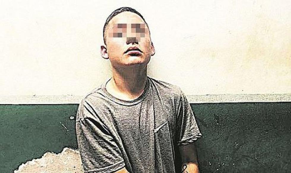 Un adolescente conocido en el mundo del hampa como 'Gringasho III', por su parecido físico con el joven trujillano acusado de sicariato, fue capturado por la Policía en Villa El Salvador. (Correo)