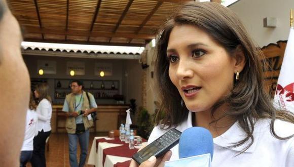Alejandra Solórzano es presidenta del Comité de Damas del Congreso.  (Congreso de la República)