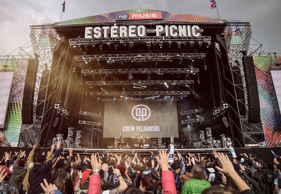 Festival colombiano Estéreo Picnic reunió a 74 bandas.