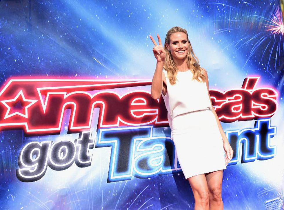 "Twitter: Heidi Klum se despide de ""America's Got Talent"" (Foto: AFP)"