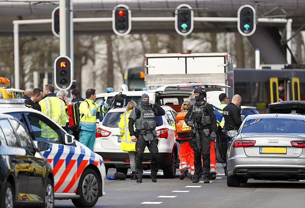 La policía holandesa ya investiga el tiroteo ocurrido enUtrecht. (Foto: AFP)