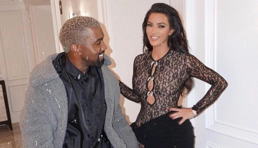 La popular Kim Kardashian publicó romántico video en su cuenta personal de Instagram.(@kimkardashian)