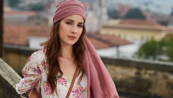 Laura Londoño es la protagonista de la telenovela de Telemundo (Foto: Instagram)