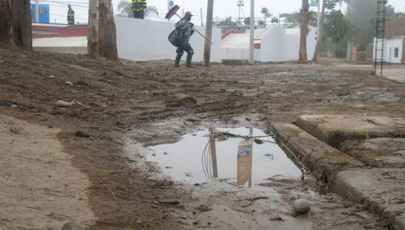 Inundación. Es la segunda vez en el año que ocurre un aniego. (USI)