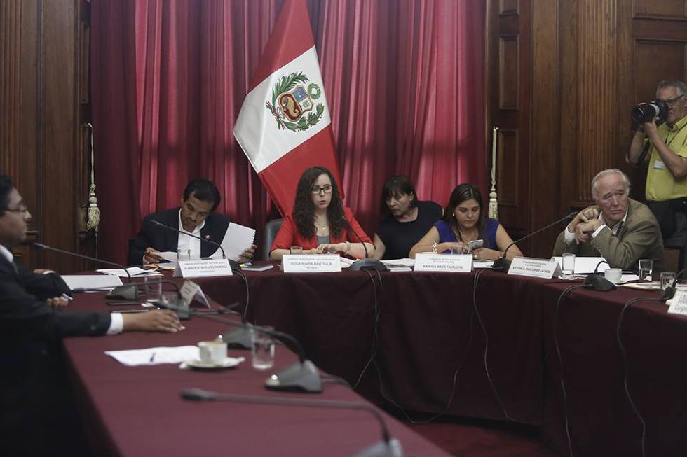 José Chlimper ante la Comisión Lava Jato (César Campos/Perú21)