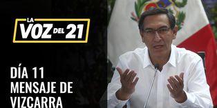 COVID-19: Mensaje del presidente Martín Vizcarra en undécimo día del estado de emergencia nacional