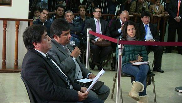 Declaraciones. Peritos también participaron en audiencia por el caso Fefer. (Corte Superior de Justicia de Lima)