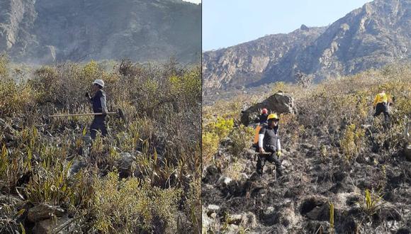 Cusco: Incendio forestal es controlado tras durar seis días en el distrito de Machu Picchu