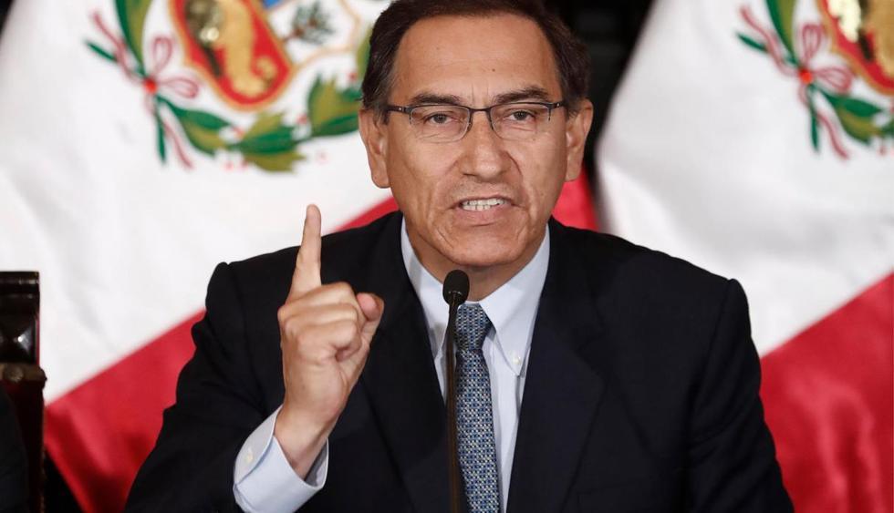 """""""Hoy ganó el Perú. Tenemos mucho trabajo por hacer para llevar bienestar a todos los peruanos. La tarea es grande, pero tenemos la fuerza y el compromiso todos para poner el Perú primero"""", dijo. (Foto: GEC)"""