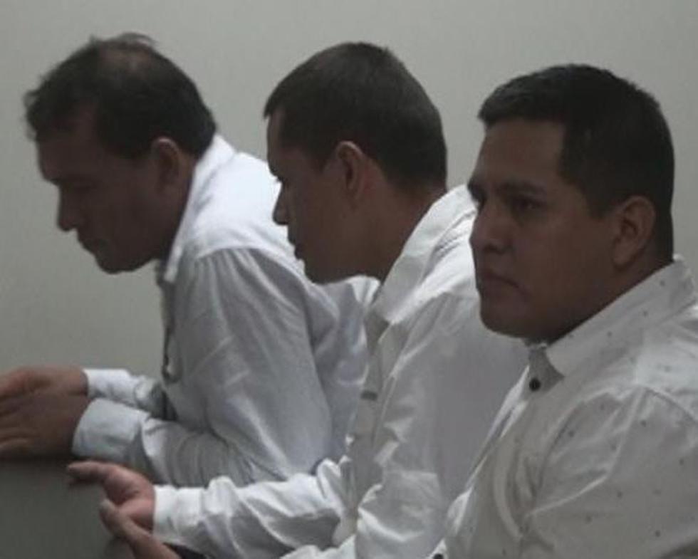 Los agentes fueron recluidos en el penal El Milagro de Trujillo. (Foto: Fiscalía)