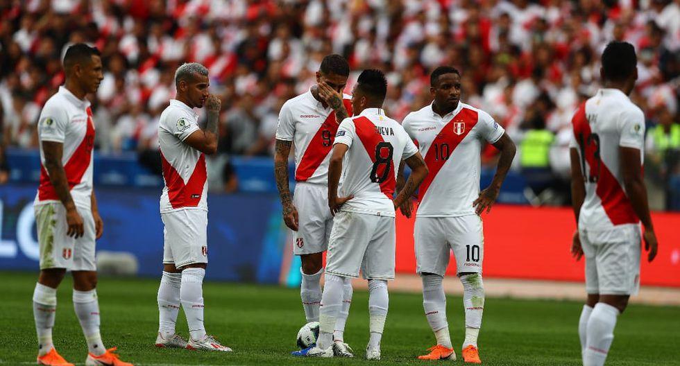 """Jefferson Farfán tras blooper de Pedro Gallese en el Perú vs. Brasil: """"Él tiene todo el apoyo del grupo"""". (Foto: Daniel Apuy)"""