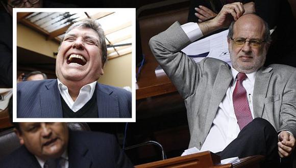 Abugattás alegó que megacomisión persidida por Sergio Tejada respetó el debido proceso. (Luis Gonzáles/Difusión)