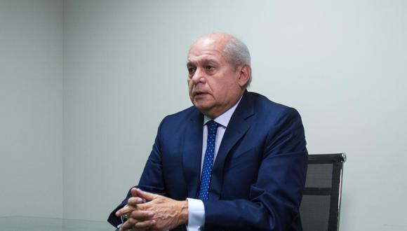 Pedro Cateriano se inscribió en el partido Todos por el Perú el 30 de setiembre, en el límite del plazo para participar en las elecciones. (Foto: GEC)