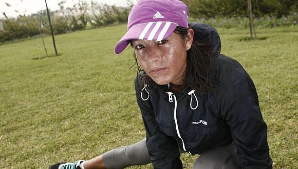 Inés Melchor clasificó a Juegos Bolivarianos. (César Fajardo)