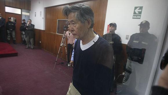 Alberto Fujimori alista demanda contra sus carceleros. (USI)