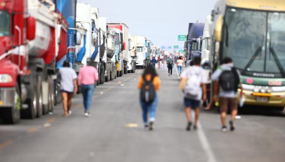 Gremio de transportistas interprovinciales advierte del perjuicio económico a su sector por el paro agrario (Hugo Curotto/GEC).
