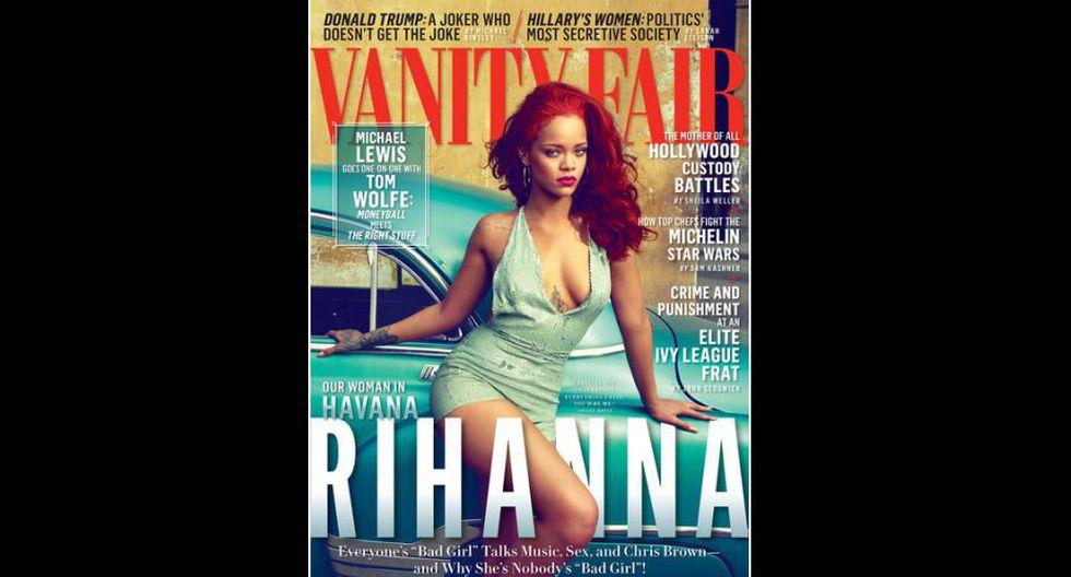 Producción fotográfica a Rihanna fue hecha íntegramente en La Habana, Cuba. (Vanity Fair)