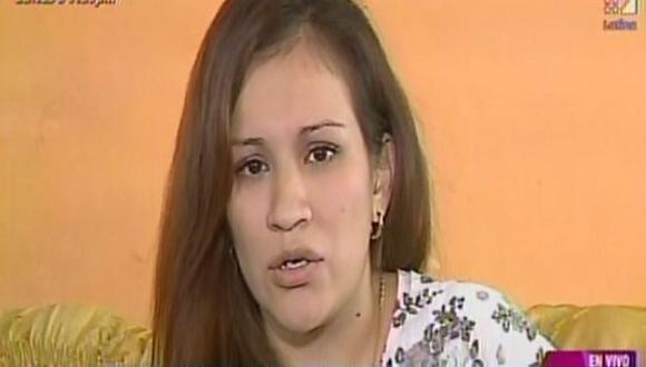 Karla Solf defendió una vez más a Ronny García. (Latina)