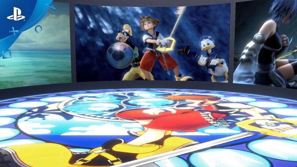 Square Enix y Disney presentaron la primera experiencia de realidad virtual de la franquicia en Japón.