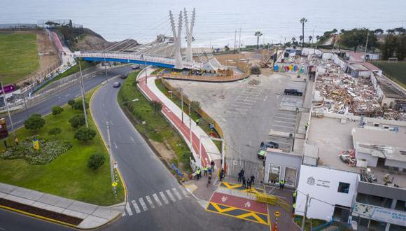 Según Velarde, Cáceres estaría desviando la obra con una ciclovía por la Av. de Ejército, el cual representaría un peligro para los ciclistas. (Daniel Apuy / GEC)