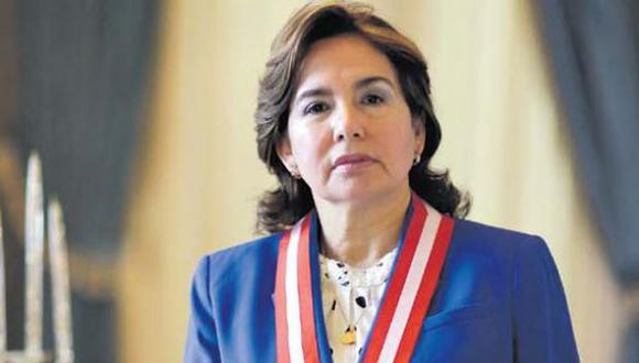 La jueza suprema Elvia Barrios presidirá el Poder Judicial en el periodo 2021-2022. (Foto: GEC)