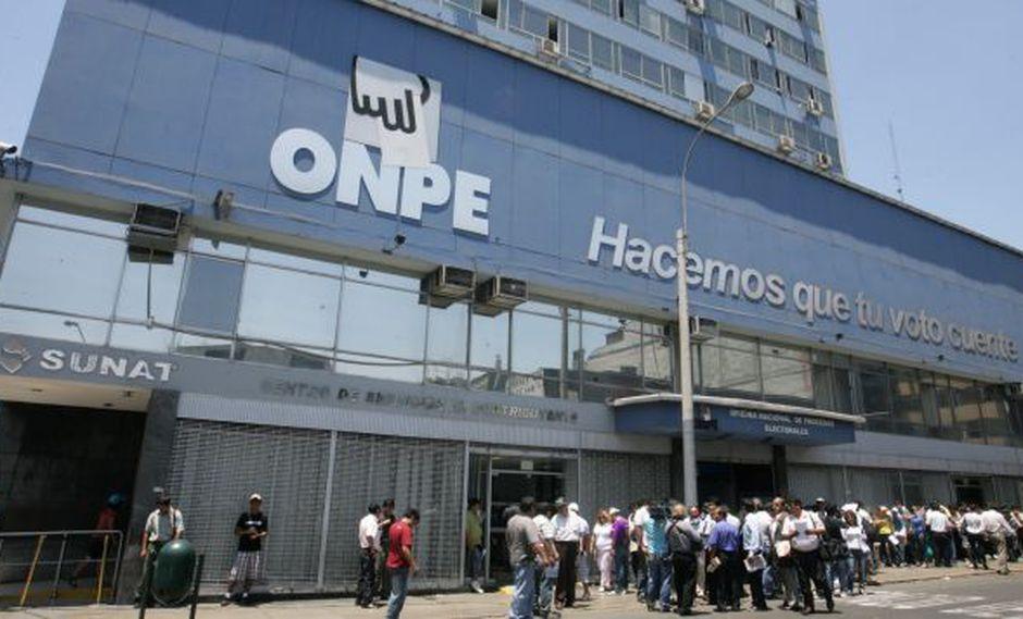 ONPE señala que no ha emitido resolución para cobrar multas. (Perú21)
