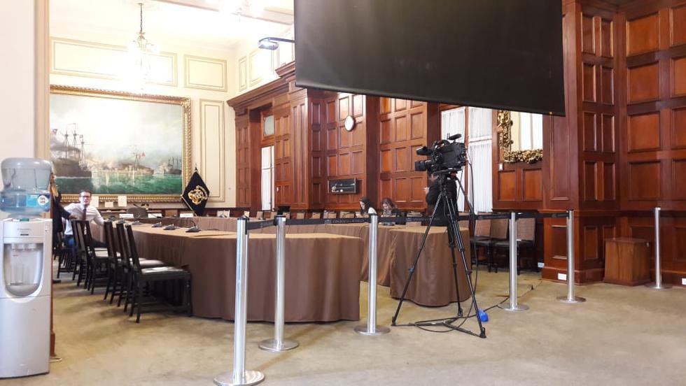 Subcomisión de Acusaciones Constitucionales sigue postergando sus sesiones. Esta vez fue por falta de quórum. (Airon Nelson)