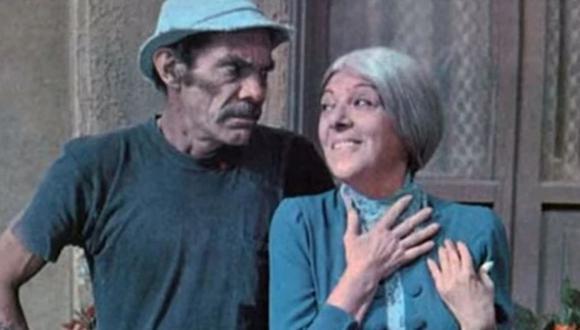 Ramón Valdés y Angelines Fernández fueron muy amigos. (Foto: Televisa)