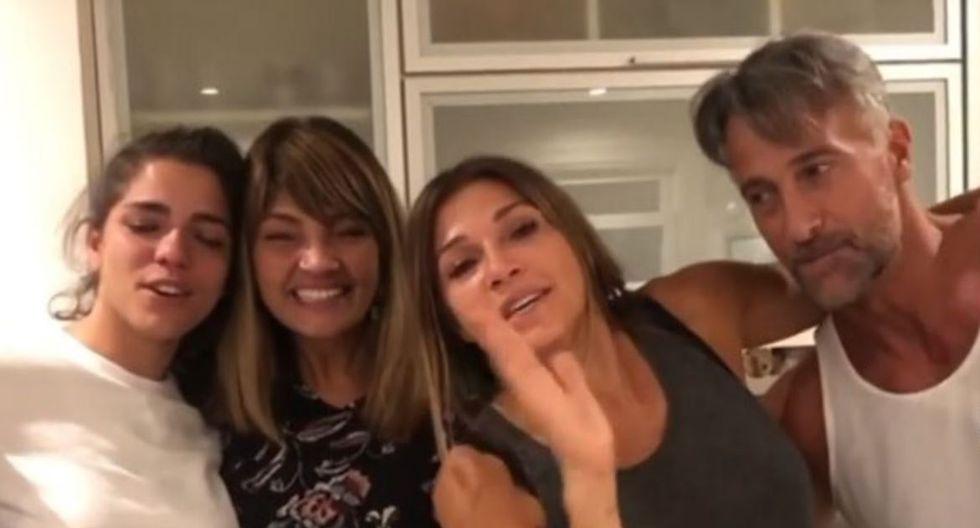 ¡Unión familiar! El emocionante reencuentro de Catherine Fulop con su hermana. (Captura)