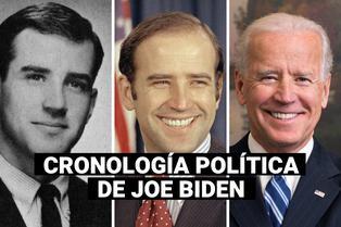 La cronología política de Joe Biden