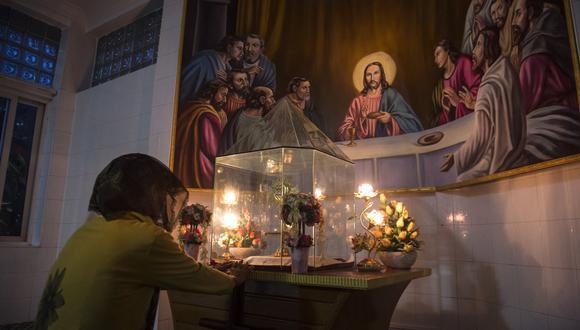 Jerusalén: Presunta tumba de Jesucristo data del siglo IV d.C. (AFP)